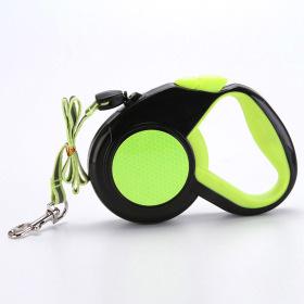 리플렉터 애견 자동 리드줄(그린)(5M) / 강아지 산책줄
