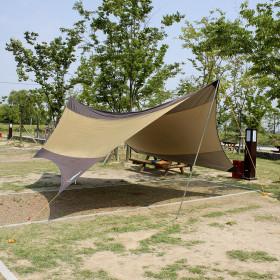5.6M 캠핑용 헥사타프 그늘막텐트 캠핑용품