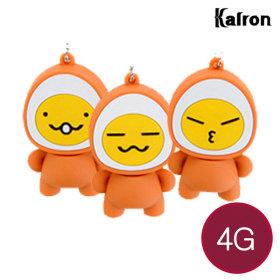 캐릭터 USB메모리 선물 예쁜 귀여운 4G 구운계란스마일