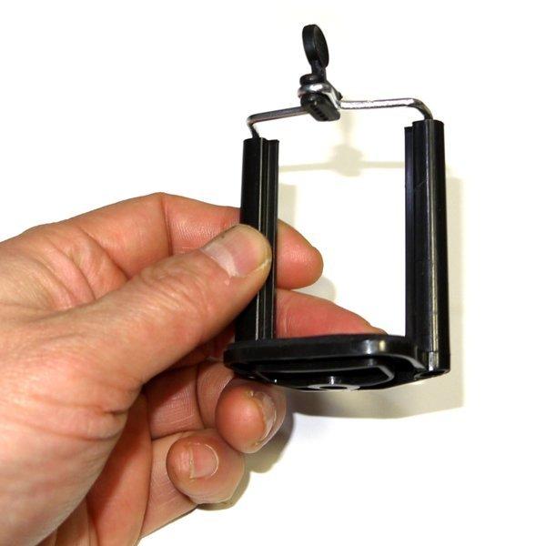 삼각대용 핸드폰 클립 거치대-스마트폰 휴대폰 스텐드 상품이미지