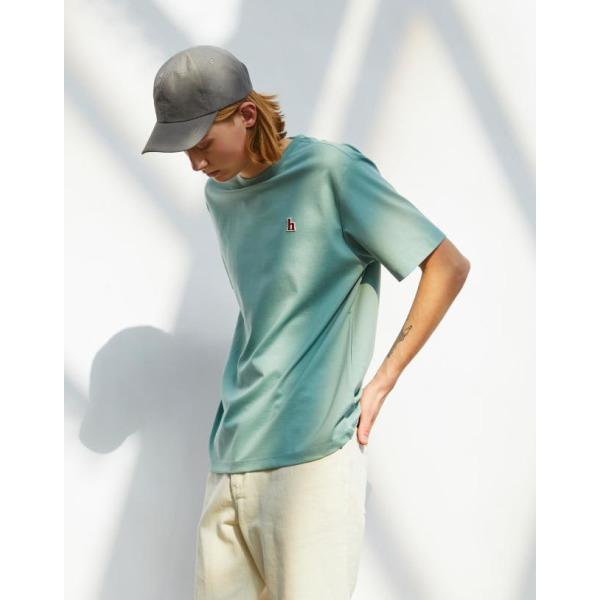 21SS  HIS  에버쿨 수피마 더스티그린 스탠다드핏 티셔츠 HZTS1B801E2 상품이미지