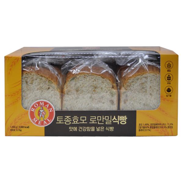 삼립 로만밀 식빵 통곡물 통밀빵 통밀식빵 빵 1260g 상품이미지