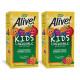 2개 Alive 얼라이브 키즈 어린이 씹어먹는 멀티 종합 비타민 120 츄어블 타블렛 빠른직구