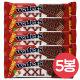(무배) XXL 코코아코티드헤이즐넛맛크림웨이퍼55gx5봉