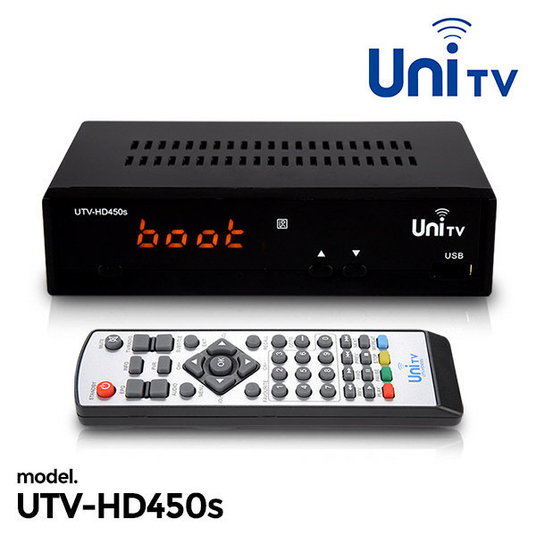 UTV-HD450s 디지털컨버터 HDTV수신카드 HDTV 셋탑박스 상품이미지