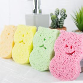 샤워타올 샤워볼 아기 때밀이 목욕스펀지 4P
