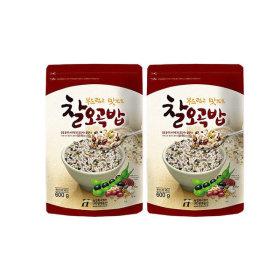 (20년산/찰오곡밥)   국내산 찰오곡밥 600Gx2봉