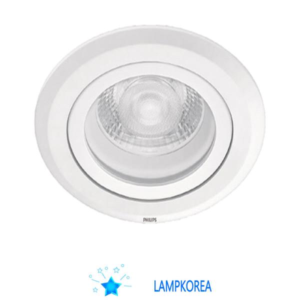 각도조절가능 PHILIPS 3인치 6W 다운라이트 전구색 상품이미지