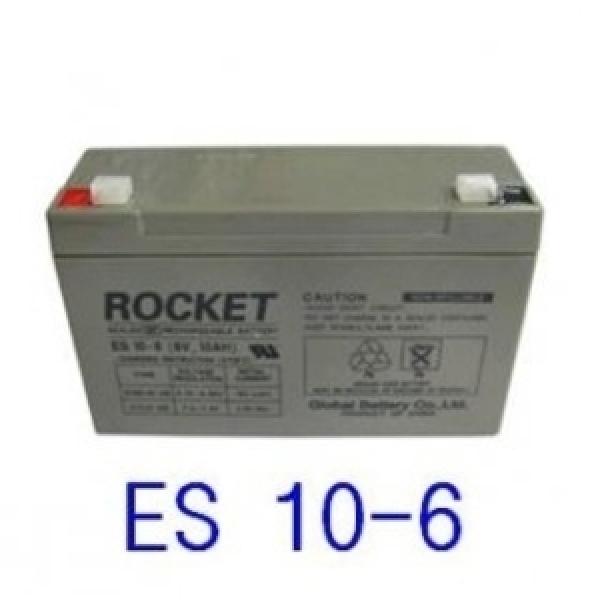 로케트 연(납)축전지 ES10-6 6V 10A 배터리 상품이미지