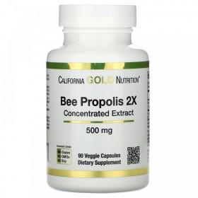 (아이허브) 4개X CGN 꿀벌 프로폴리스 2배 농축 500mg 90베지캡슐 빠른직구