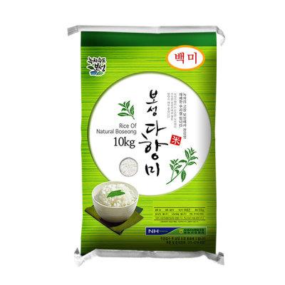 Boseong NH 2018 newly harvested rice/Boseong Dahyang rice 10kg/rice 10kg/brown rice/mixed grain