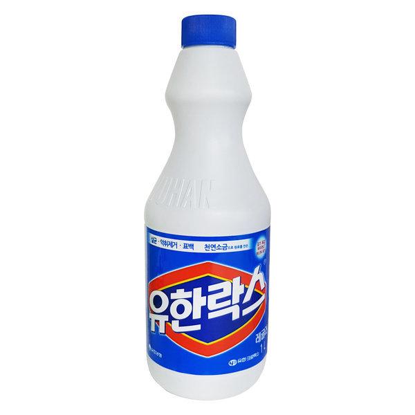 유한락스 레귤러 1L 락스 살균세정제 청소용 상품이미지
