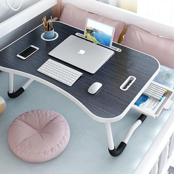홈러스 접이식테이블(서랍형) 노트북 미니테이블 상품이미지