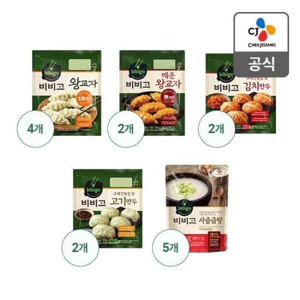 비비고 만두 4종 10봉+사골곰탕 5봉(오선) 상품이미지