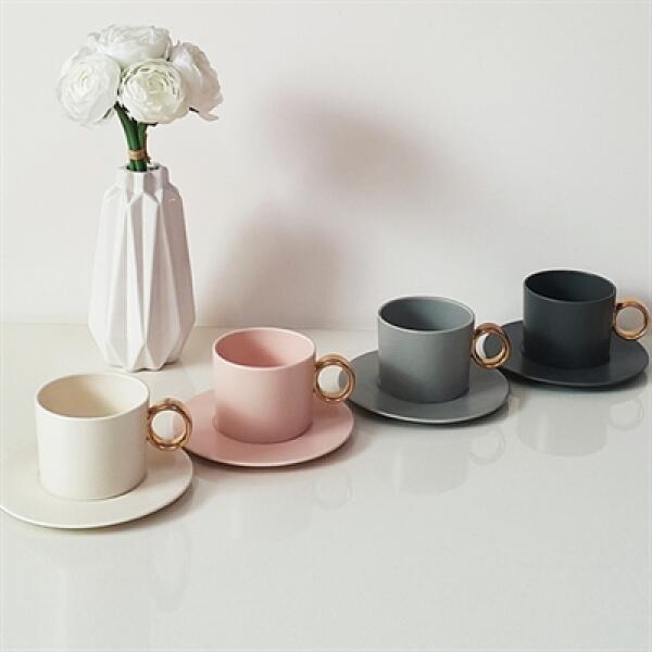 아트박스/퍼니키친 골드링 커피잔세트 집들이선물 카페머그컵 상품이미지