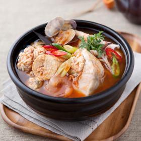 미스타셰프 해물알탕 550g 4팩/2.2kg/간편식/맛집