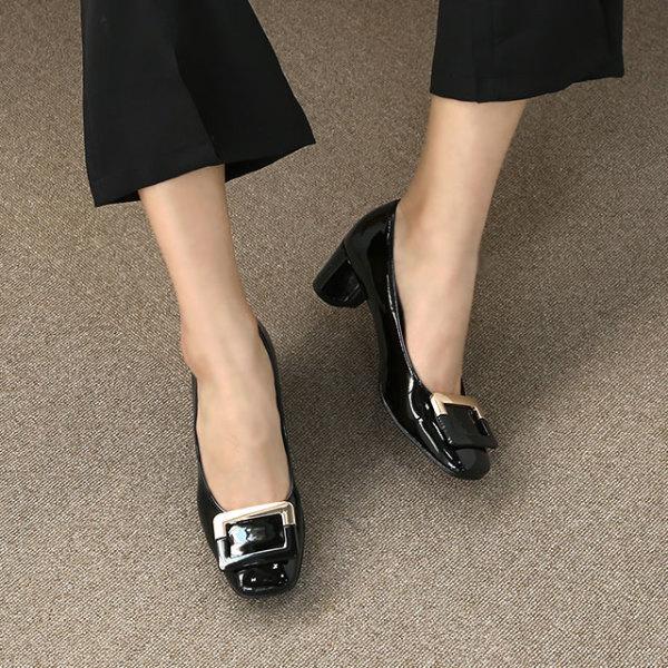 골드버클 여성 펌프스 (4.5cm) 블론드 상품이미지
