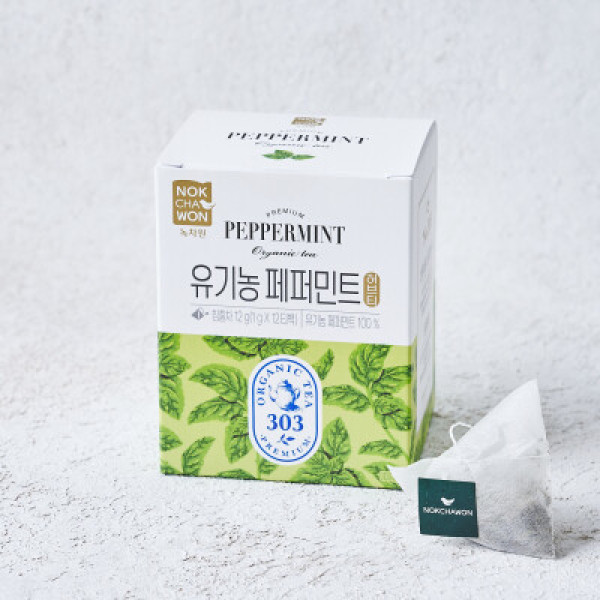 녹차원 유기농페퍼민트 1G 12T 상품이미지