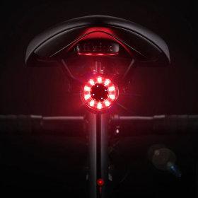 자전거 후미등 알루미늄합금 방수 USB충전 50시간사용