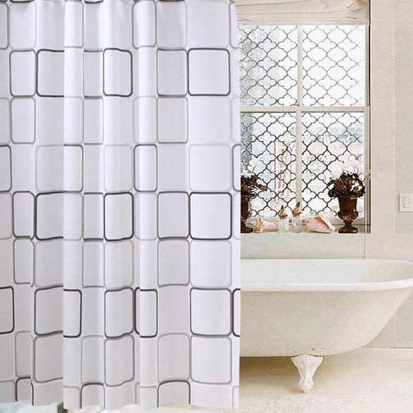 어바트 욕실 샤워커튼 사각형(180x180) 상품이미지