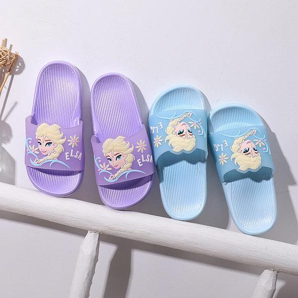 겨울왕국 엘사 슬리퍼 유아 신발 아동 실내화 상품이미지