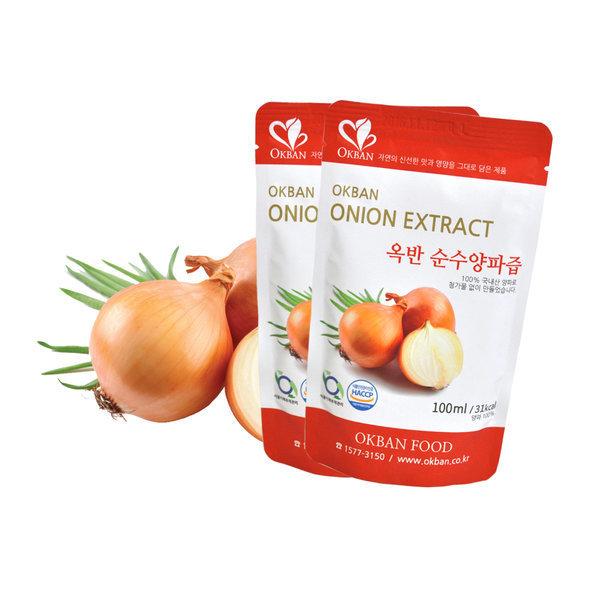 옥반식품 순수양파즙 50팩x120ml  양파즙 양파효능 상품이미지