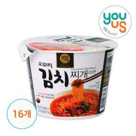 Omori Kimchi Stew Ramen (courage) 150g x 16ea/ Korean Food