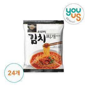 Omori Kimchi Stew Ramen (Bongji) 160g x 24ea/ Korean Food