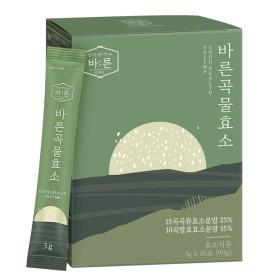 바른 곡물효소 발효효소 식이섬유 유산균 1박스(30포)