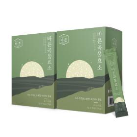 바른 곡물효소 발효효소 식이섬유 유산균 2박스x(30포)