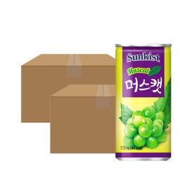 썬키스트 머스켓 175ml 캔 30x2박스