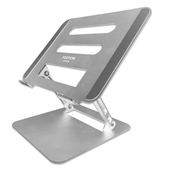랩킷B 아이패드 맥북 노트북 접이식 거치대-실버 상품이미지