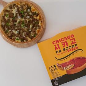 월드푸드 시카고 리얼 불고기 피자 야식/피맥 추천