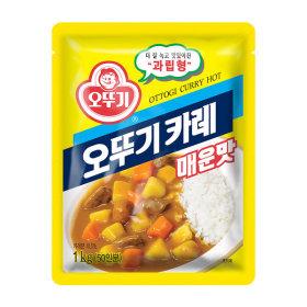 오뚜기 카레 매운맛 1kg /대용량