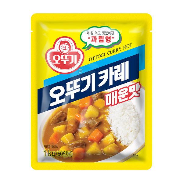 오뚜기 카레 매운맛 1kg /대용량 상품이미지