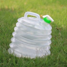 자바라물통 10리터/접이식 물통 캠핑 휴대용 생수통