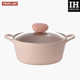 NEOFLAM Sherbet Cookware IH Double-Handle Pot 22cm