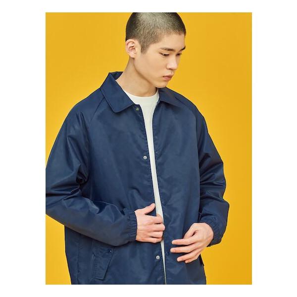 빈폴   멘  네이비 백 레터링 코치 재킷 (BC1139N01R) 상품이미지
