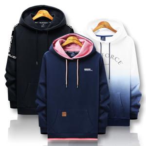 [블루포스]봄신상 후드티/티셔츠 후드집업/남자옷집업커플단체티