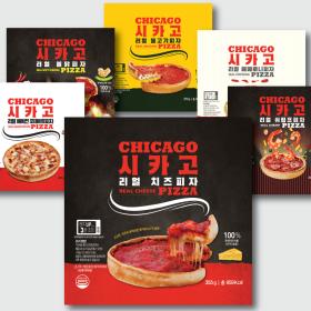 월드푸드 시카고 리얼 피자 6종 세트