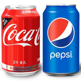 펩시 콜라 355ml 24캔/음료수/탄산음료/캔음료/사이다