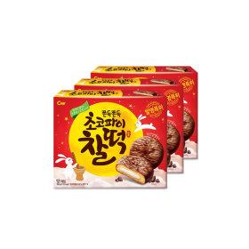 초코파이찰떡 258g 12개입 3박스