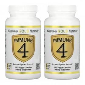 (아이허브) 2개X CGN 이뮨4 180베지캡슐 비타민C 비타민D 아연 셀레늄 함유 빠른직구