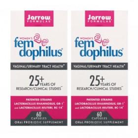 (아이허브) 2개X Jarrow 펨 도필러스 여성 프로바이오틱스 50억 60캡슐 유산균 빠른직구