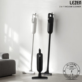 LZVC-Y3900 블랙 유선 진공 핸디 스틱 미니 청소기