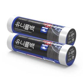 비닐봉투/유니랩 위생 유니롤백 (대형 500매)