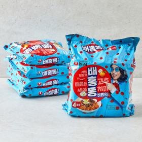 농심 배홍동 비빔면 4입