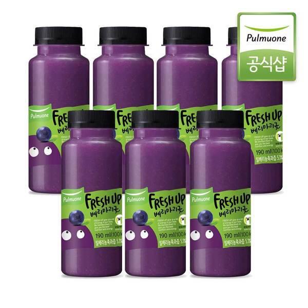 풀무원녹즙 프레시업 베리마리굿 190ml x 7병 (냉장배송) 상품이미지