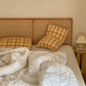 스칸딕 라탄 원목 침대 SS/Q 원목침대
