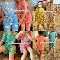 반팔쁘띠아동세트 아동잠옷 키즈잠옷 주니어 아동세트